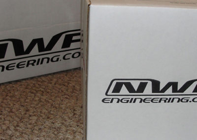 NWP Engineering Throttle Bottle Shipping Box